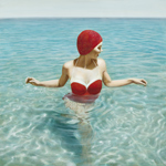Bather In Red